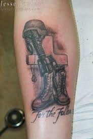 fallen soldier memorial tattoo i have been planning on