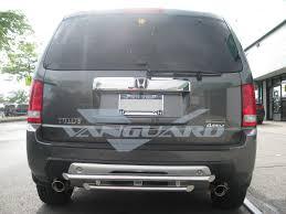 nissan rogue rear bumper rear bumper guard in hitch design s s auto beauty vanguard