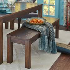 Parsons Tobacco Brown Dining Bench Pier  Imports - Pier 1 kitchen table