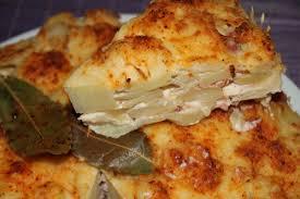 recette de cuisine facile et rapide plat chaud gateau de pommes de terre reblochon lardons bienvenue
