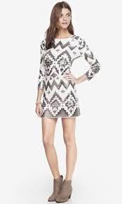 express new years dresses black aztec sequin embellished mini dress dresses