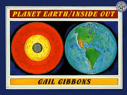 planet earth inside out gail gibbons science mentor text books