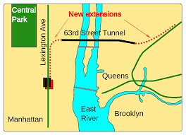 Map Of Lower East Side New York by East Side Access Wikipedia