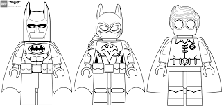 the lego batman movie minifigures coloring pages get coloring pages