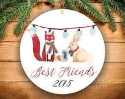 best friend ornament etsy