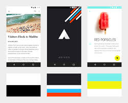 expressing brand in material library google design