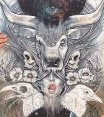 extreme tattoo winksele facebook trippy illustrations by emile kumfa abduzeedo graphic design