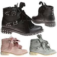 womens walking boots ebay uk the 25 best biker boots ideas on