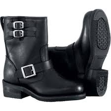 best cruiser motorcycle boots river road twin buckle engineer women s leather harley cruiser