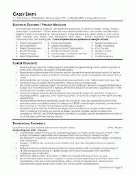 Electrical Engineering Resume Template Mechanical Engineering Resume Templates Saneme
