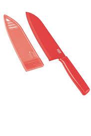 kuhn rikon colori chef u0027s knife 6 inch blade with non stick coating