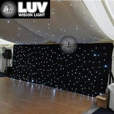 black white leds backdrop stage decoration backdrop for church