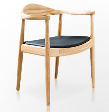 Office Reception Chairs Ming Chairs Minimalist Ash Wood Enclosure Chair Hotel Sales Office