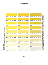 Pantone Yellow by Process Coated Cmyk Magenta Printing