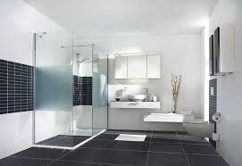 badezimmer weiß grau moderne fliesen weiss grau ruaway