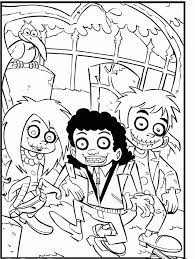 creepy coloring pages scary halloween coloring page coloring home