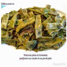 cuisiner coco plat délices and co haricots plats a l orientale parfumes au cumin et