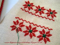 happiness is cross stitching flat fold ornament and mini