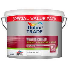 dulux weathershield smooth masonry discounted trade paint