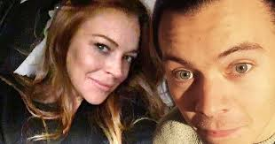 Lindsay Lohan Bedroom Lindsay Lohan Claims Harry Styles Turned Up At Her Hotel Room For