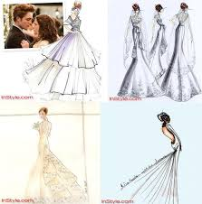 Bella Wedding Dress Bella U0027s Wedding Dress Designs Twilight Forever