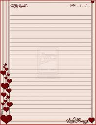 free printable letter writing paper love always stationary by erialosa on deviantart printable explore writing paper etiquette and more