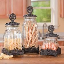 western kitchen canisters southern canisters set silverado canister set country at