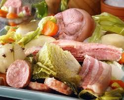 cuisiner un jambonneau recette potée avec jambonneau et petits légumes