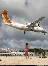 Comfort Winair De Havilland Canada Dhc 8 315 Da Caribbean Star Airlines De