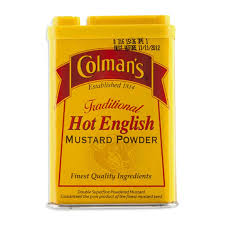 colman mustard colman s traditional hot powder mustard 50g woolworths co za