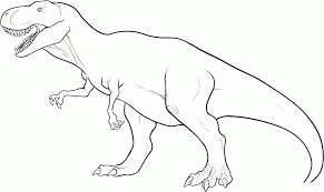 dinosaurs coloring pages free dinosaur outline printable dinosaur