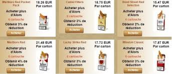 cigarettes sur les acheteurs de tabac en ligne bientôt