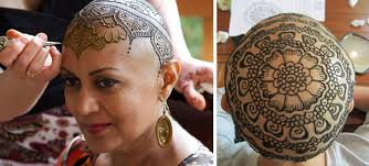 beautiful henna crowns help cancer patients overcome their hair loss