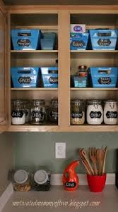the thrifty home simple solutions to organize a deep pantry tall