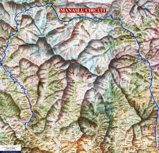 Maps Nepal by Manaslu Trek Nepal Manaslu Map As A Jpeg For Download Manaslu