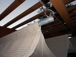 diy shade cloth for pergola