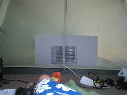Small Window Ac Units Air Conditoned Tent For Those Months 6 Steps With Pictures