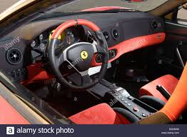 Ferrari California White With Red Interior - ferrari interior stock photos u0026 ferrari interior stock images alamy