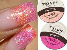 039 perky remix acrylic nail powder pink acrylic nails and