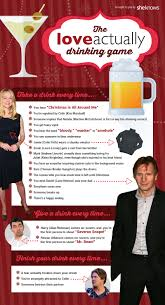the love actually drinking game you need to play this holiday season