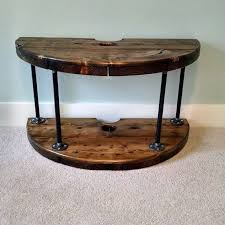 Making Wooden End Table by Best 25 Wood Spool Furniture Ideas On Pinterest Cable Spool