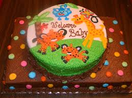 fisher price rainforest cake baby shower my cakes pinterest