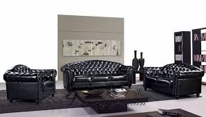 studded leather sectional sofa royal black sectional living room sofa sets 3 2 1 studded leather