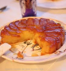 t駘駑atin recettes de cuisine tarte tatin aux pommes la cuisine de mes racines