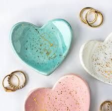 modern dish ring holder images Mini heart gold splatter ring dish jewelry dish jewelry holder jpg