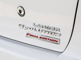 custom mitsubishi emblem mitsubishi lancer evolution final edition 2015 picture 28 of 30