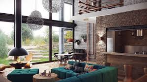industrial home interior interior designs ultra modern living room with an industrial feel