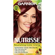 brown cherry hair color buy garnier nutrisse hair color 452 dark reddish brown chocolate