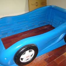 Little Tikes Race Car Bed Find More Little Tikes Blue Race Car Bed Twin Size 2 Available