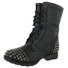 womens black combat boots size 9 fashion 28 s combat boots studs black